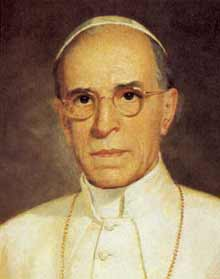 Pius XII. (Eugenio Pacelli) †